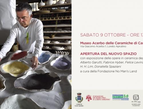 Il Museo Acerbo delle ceramiche di Castelli di Loreto Aprutino apre al Contemporaneo